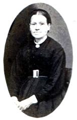 Margaretha (Malin) Johansdotter, född 25/6 1832 i Sjögestad