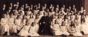 Stellas konfirmation 1917