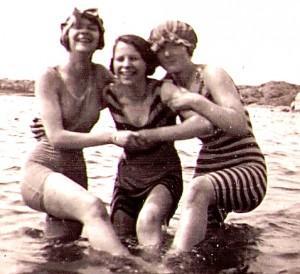 Sommarsöndag på Näset 1921