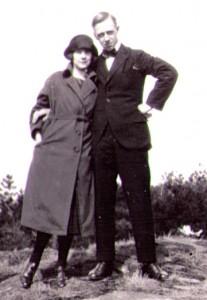 Stella och Birger (Biggan) i Slottsskogen