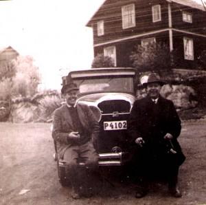 Chauffören med arbetsgivaren