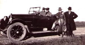 På väg till Halmstad 1925